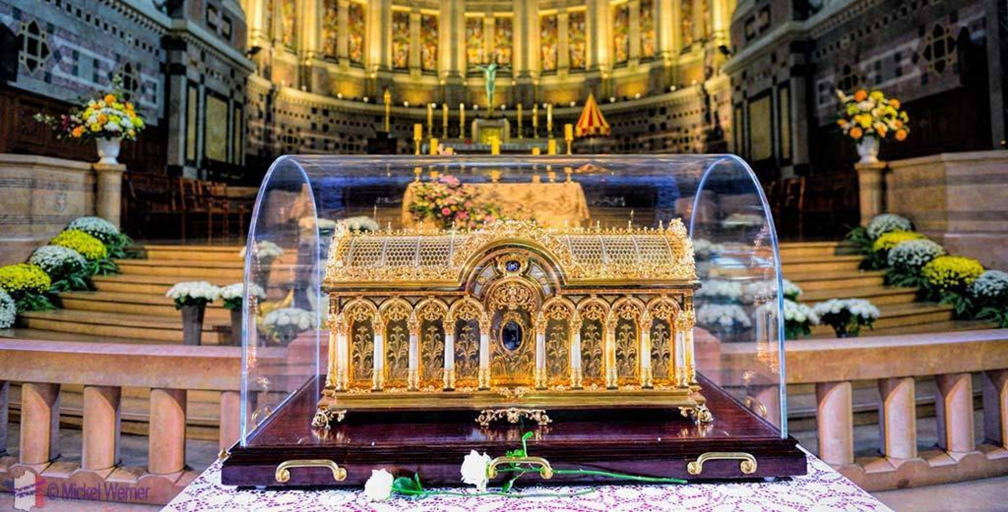Relics of St Thérèse to visit